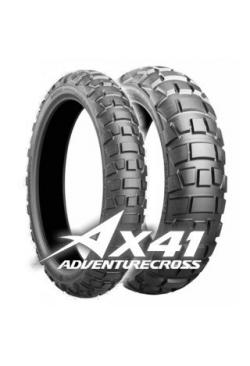 Bridgestone AX41 110/80 B19 59Q DOT 48/2018+Bridgestone AX41 150/70 B17 69Q DOT 2019