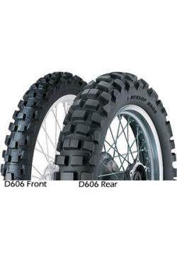 Dunlop D606 130/90-17 68R TT Zadná DOT 03/2016