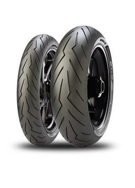 Pirelli Diablo Rosso III 120/70 ZR17 (58W) DOT 2020+180/55 ZR17 (73W) DOT 2020