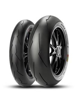 Pirelli Diablo Supercorsa V2 SP 120/70 ZR17 (58W)  DOT 2018 + 180/55 ZR17 (73W) DOT 2019